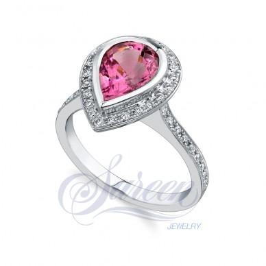 Sareen Colored Ladies Diamond Ring