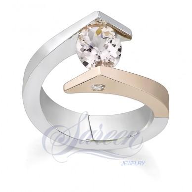 Sareen Tension Colored Ladies Diamond Ring